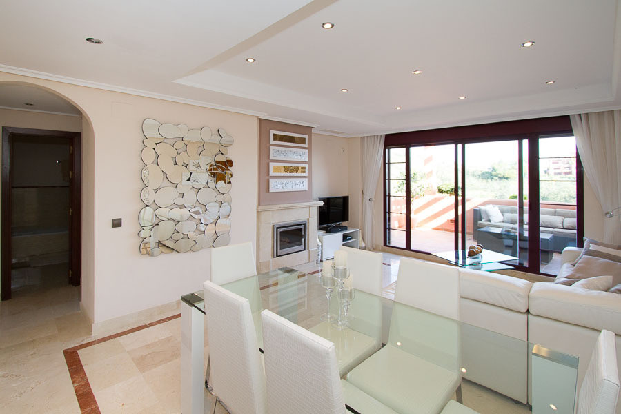 Wow ! Must see quality duplex three bedroom penthouse on the very popular El Soto de Marbella urbani, Spain