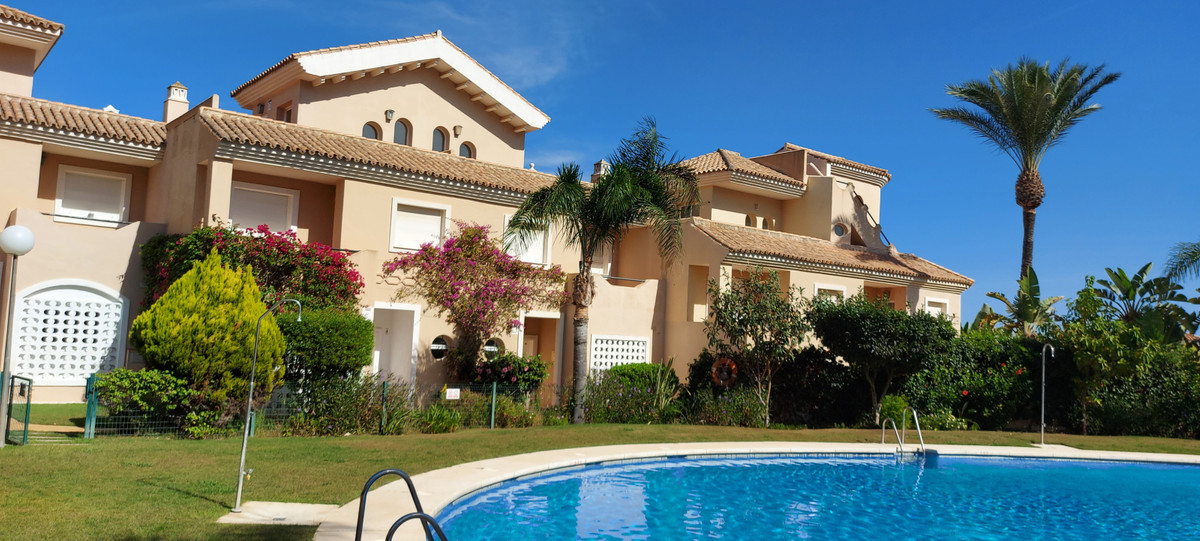 Large family townhouse with large private garage.. Townhouse, La Duquesa, Costa del Sol. 3 Bedrooms,,Spain