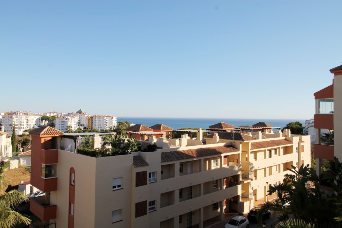 Great apartment with sea and garden views in Riviera del Sol. Included garage and storage in the pri, Spain