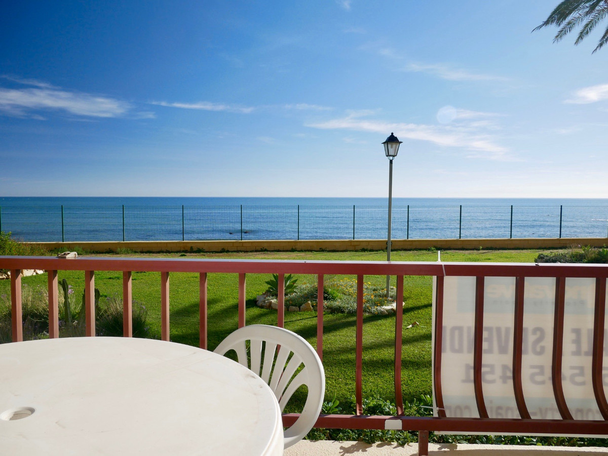 This is a FIRST LINE BEACH apartment with full frontal sea and beach views and direct access to the ,Spain