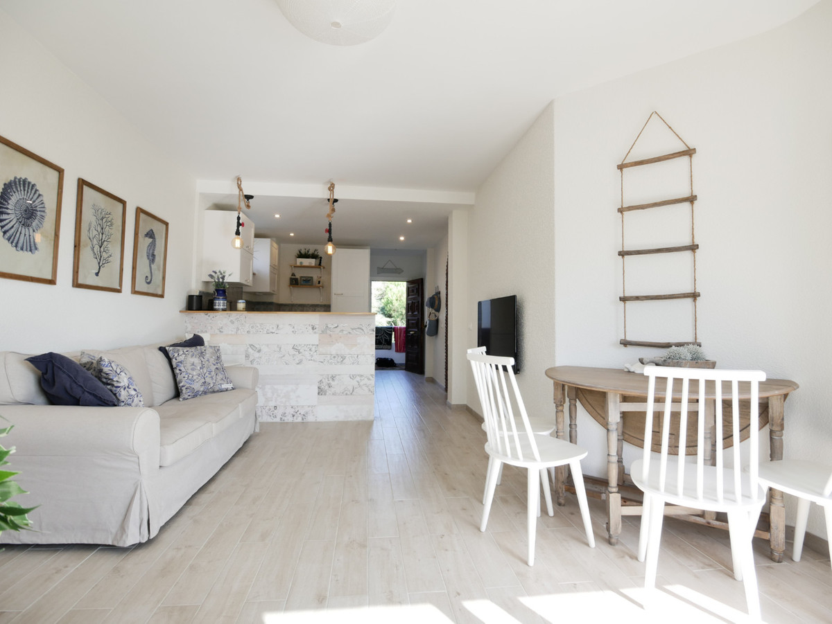 This is a super totally renovated apartment just three minutes walk from a really great beach.  The ,Spain