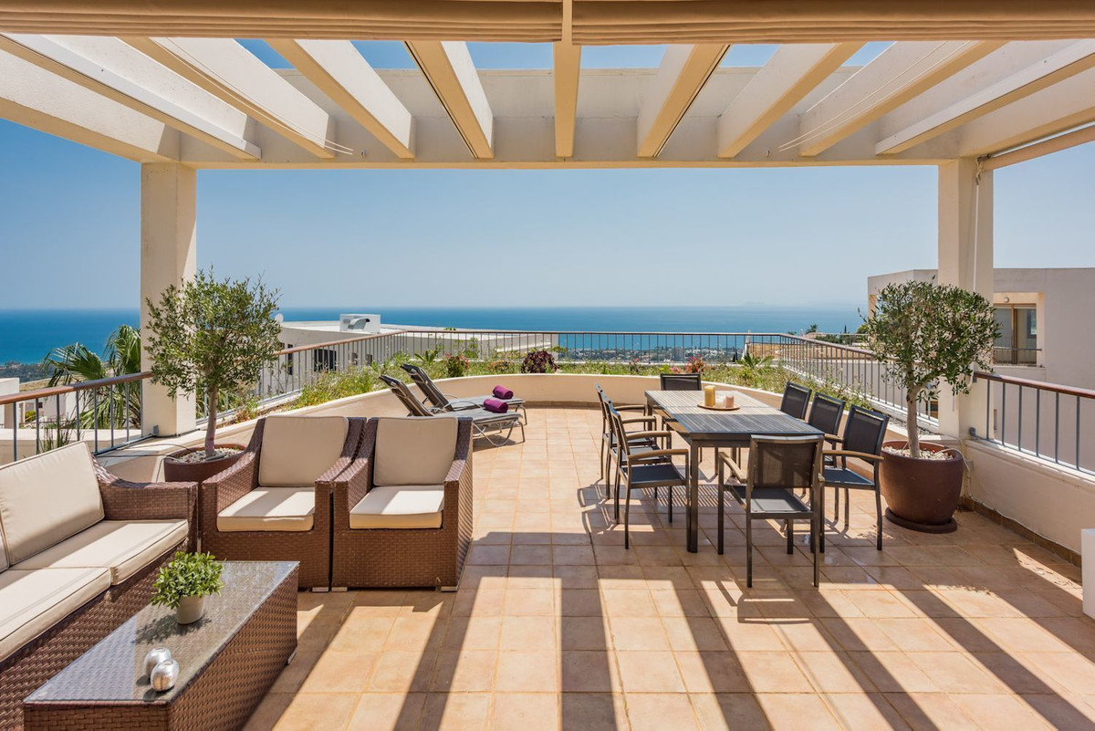 This is a super penthouse in a top Marbella location with breathtaking sea and coastal views. This i, Spain