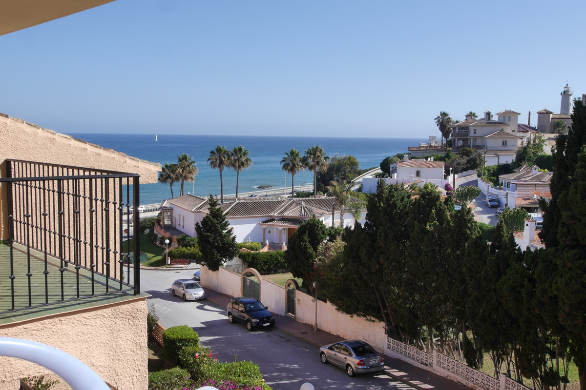 Nice apartment with two bedrooms and a bathroom, closed terrace, with some sea views. There is a com, Spain