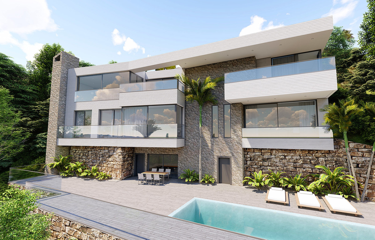 A stunning modern villa at an unbeatable price in Lomas de Mijas. The property features spectacular , Spain