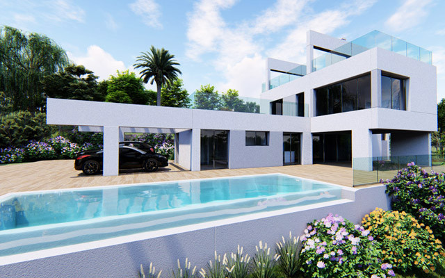 Contemporary four-bedroom villa in Nueva Andalucia, surrounded by some spectacular Golf courses in t,Spain