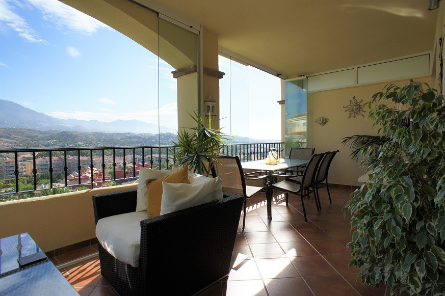 Spacious and absolutely spotless 2 bedroom apartment with wonderful and unblocked views towards the ,Spain