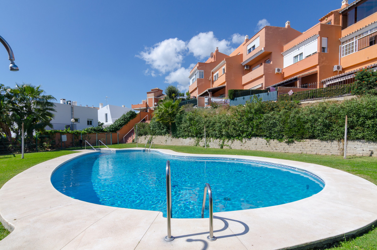 3-storey townhouse in one of the best residential areas of Benalmadena, Urb. Mirador de Mena, next t,Spain