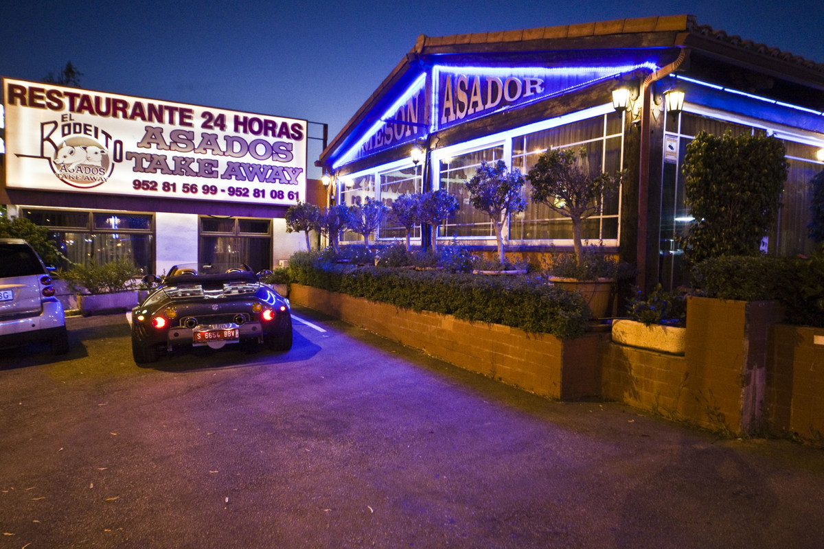 EL RODEITO  Emblematic Restaurant in Marbella with over 40 years history.  Active license.  Disburse,Spain