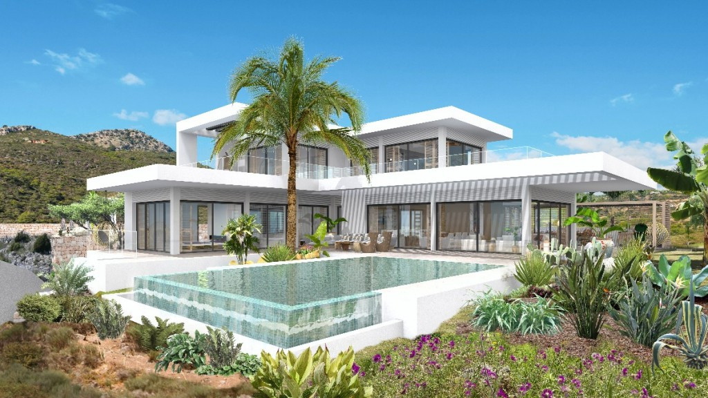 New Villa project to be built  Monte Mayor Country Club, Benahavis  Villa Mandurah is an exclusive d, Spain