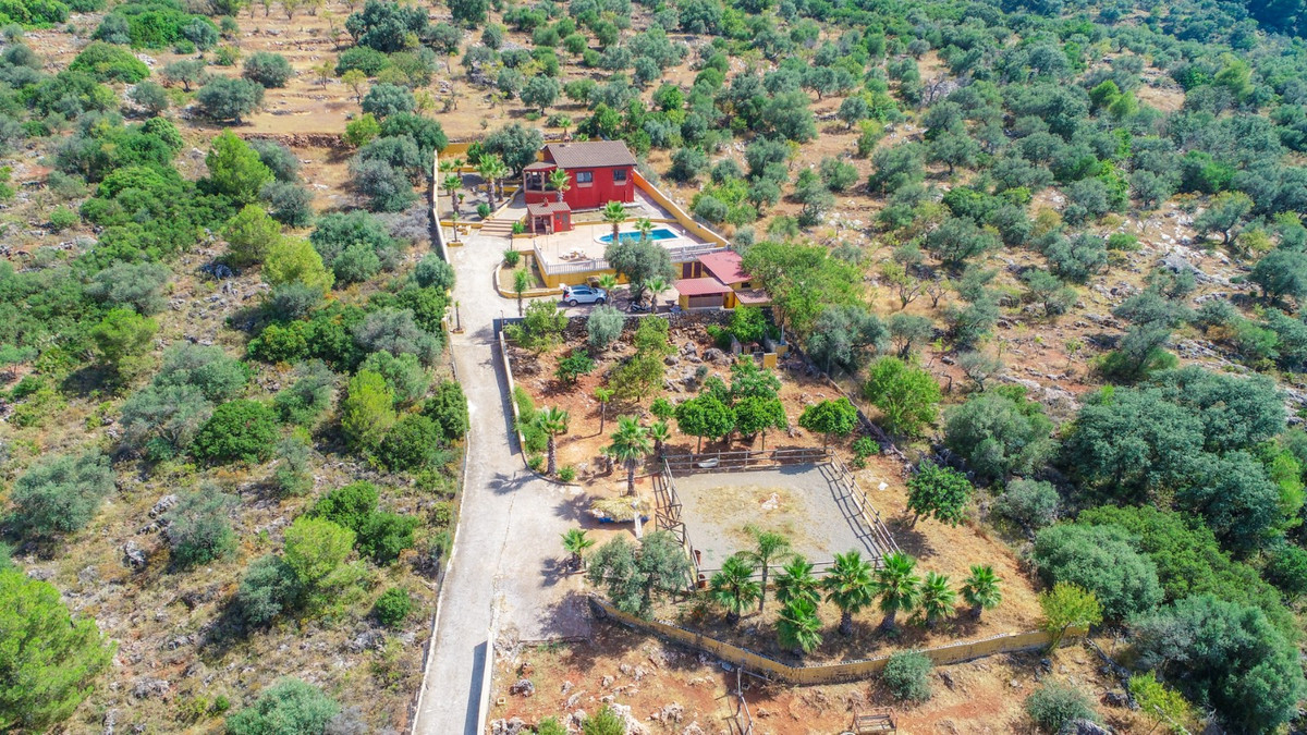 Finca with spectacular views in Alhaurin el Grande located in a unique setting within a Nature Reser, Spain