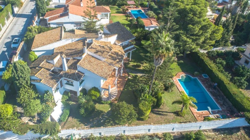 Fritliggende Villa i Málaga R3278683