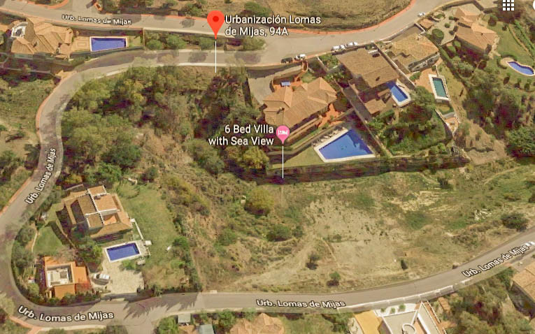 Large plot of 1.128m2 situated in urbanisation Las Lomas De Mijas close to all amenities.   Included, Spain