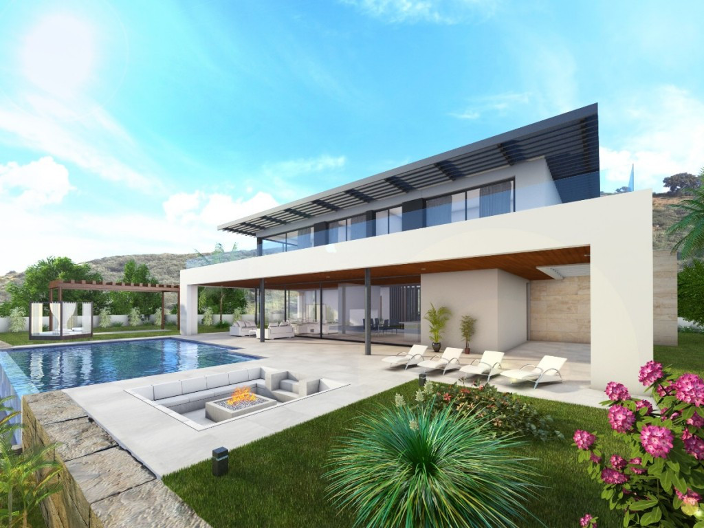 Beautiful urban plot of 1.613m2 with the possibility of building a Villa of 316m2 built plus basemen,Spain