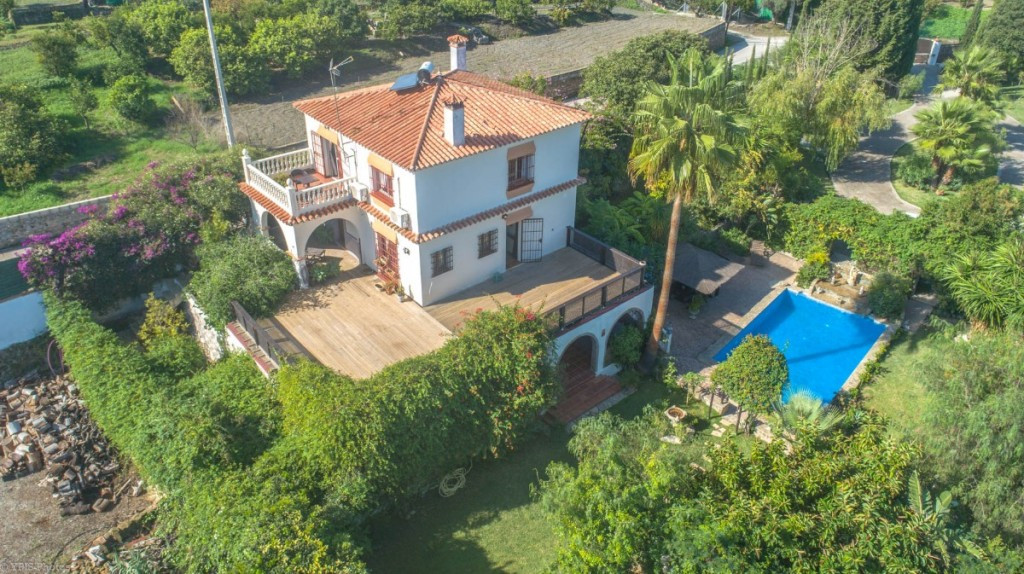 Beautiful traditional Spanish style Finca with panoramic views built on a flat plot and very close t,Spain