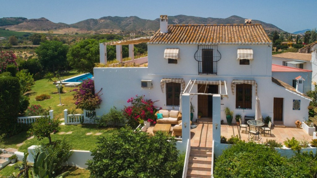 """Wonderful Finca """"Cortijo Style"""" located on a small hill with panoramic views and very well,Spain"""