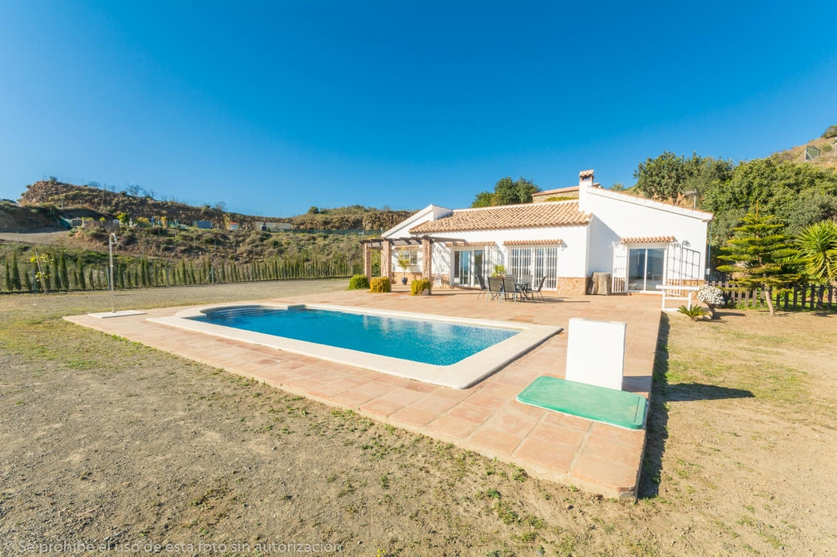 Beautiful Finca on one floor with amazing panoramic views of the sea, the mountains and the village., Spain