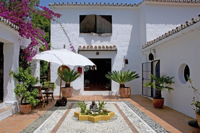 Wonderful Andalusian style Bed & Breakfast Cortijo surrounded by a mature garden where you can r, Spain