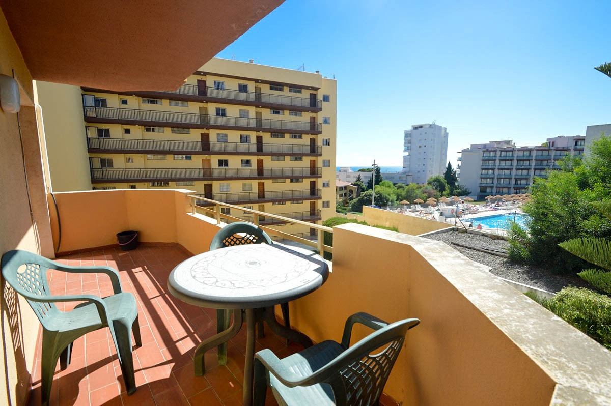 Apartment with west facing terrace and ideally located next to all amenities and 200m from the beach, Spain