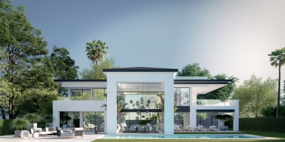 This stunning new villa project enjoys a privileged location just 50 meters from the beach and a sho,Spain