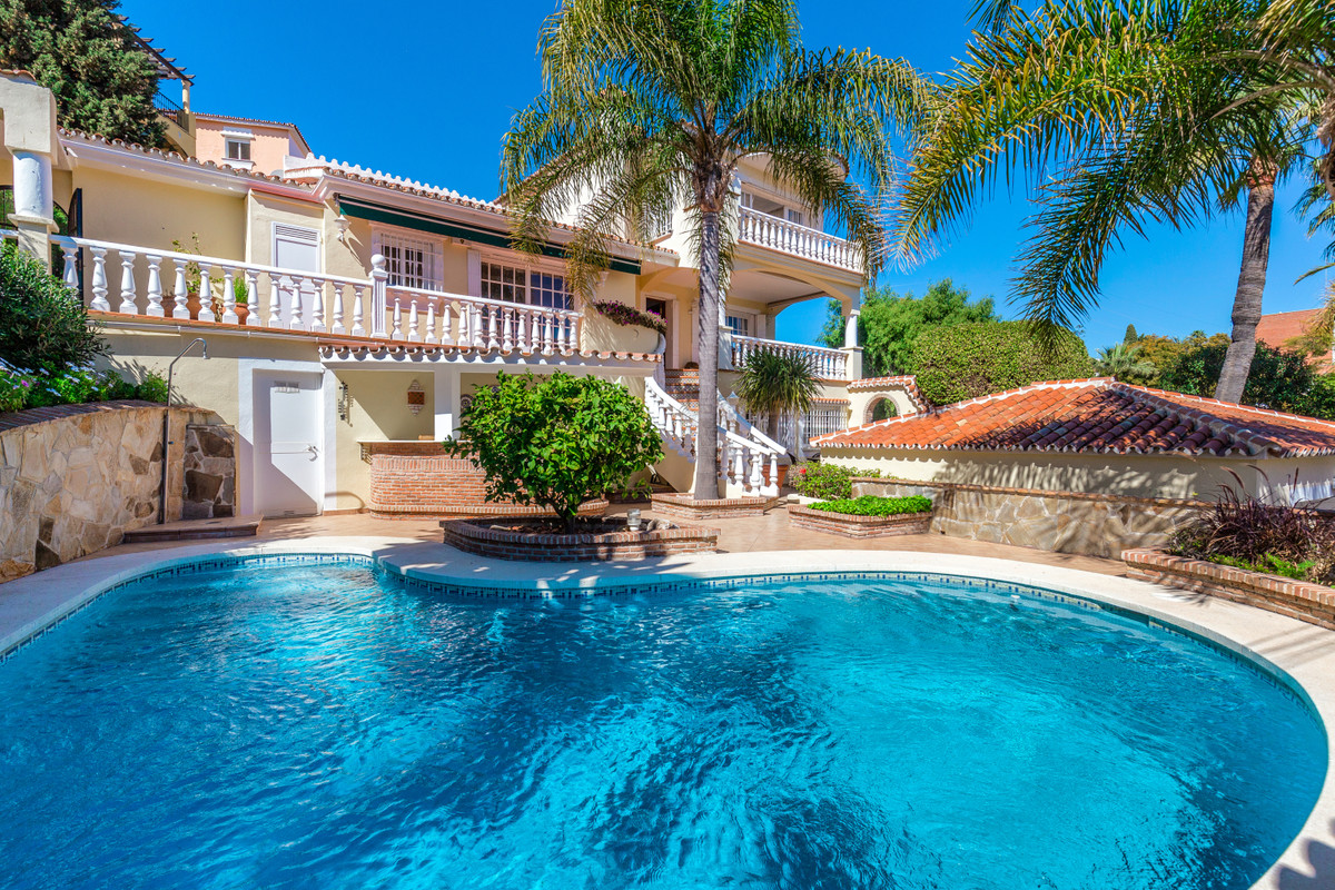 This charming 5 bedroom villa is the perfect family home next to Puerto Banus and is offered in good,Spain