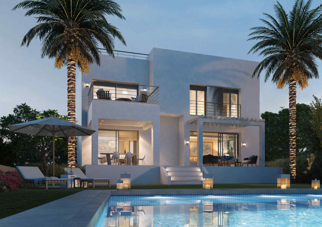 Contemporary styling in Golf and Country Club estate between Puerto Banus and Estepona