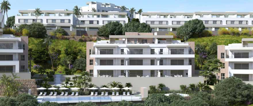 3 bed apartment with panoramic views
