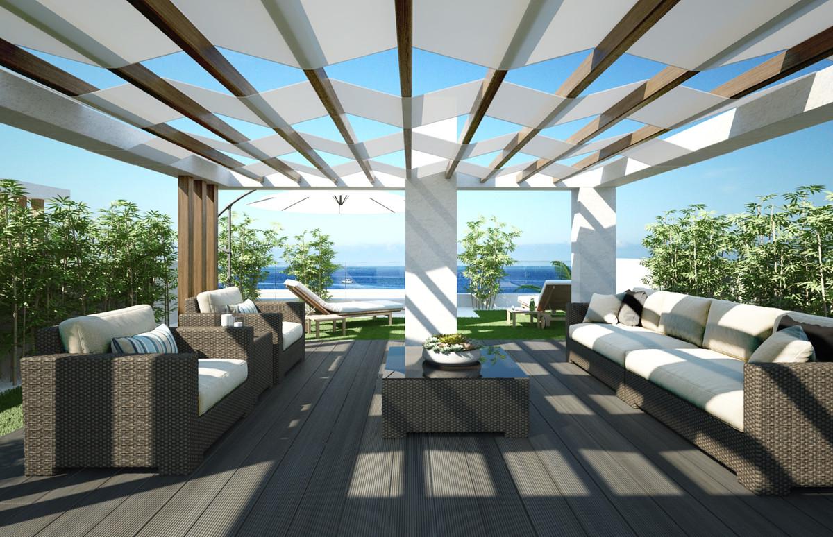 Luxury villas overlooking the golf course