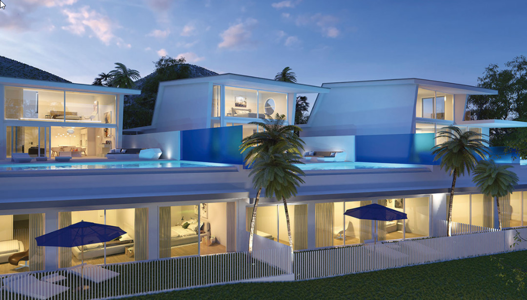 You can relax : you have an infinity swimming pool and a spacious terrace