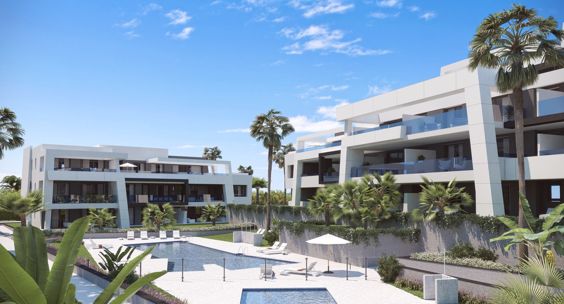 Just outside beautiful Estepona  - 2 bed apartment