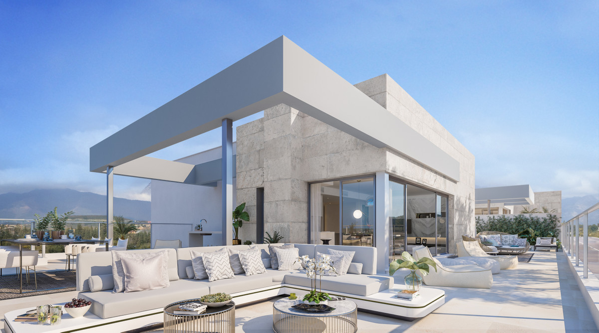 Stylish apartments with on-site gym, paddle courts and swimming pool