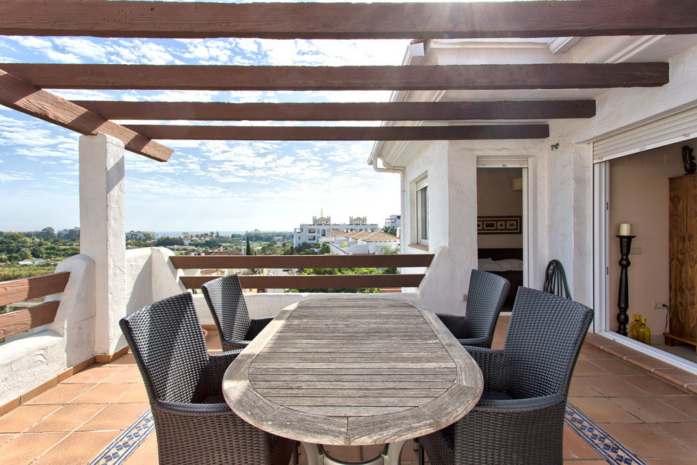 Panoramic views from your terrace