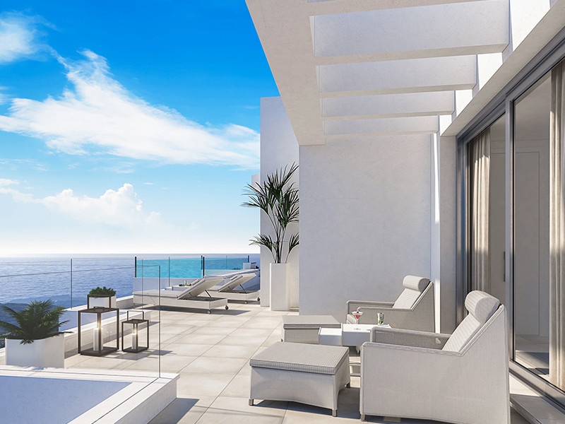 PANORAMIC SEA VIEWS FROM SPACIOUS TERRACES.