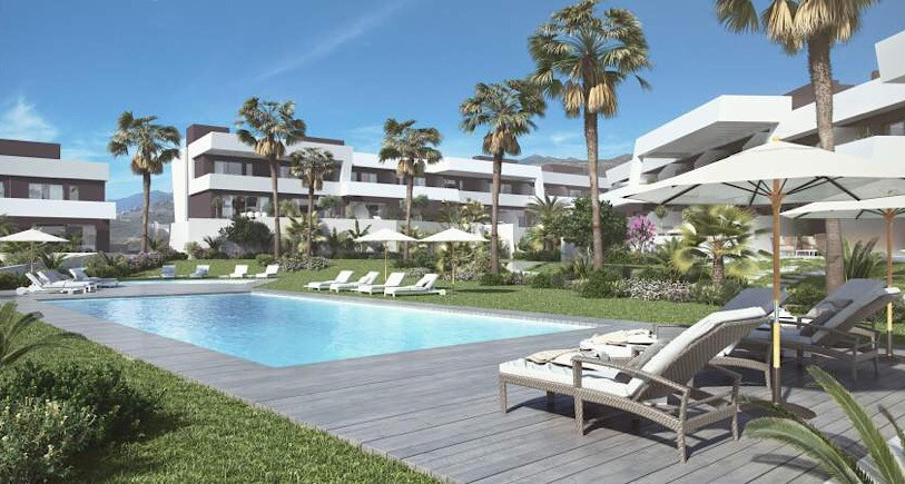 The properties are within minutes of the beach and with views towards the La Noria Golf course.