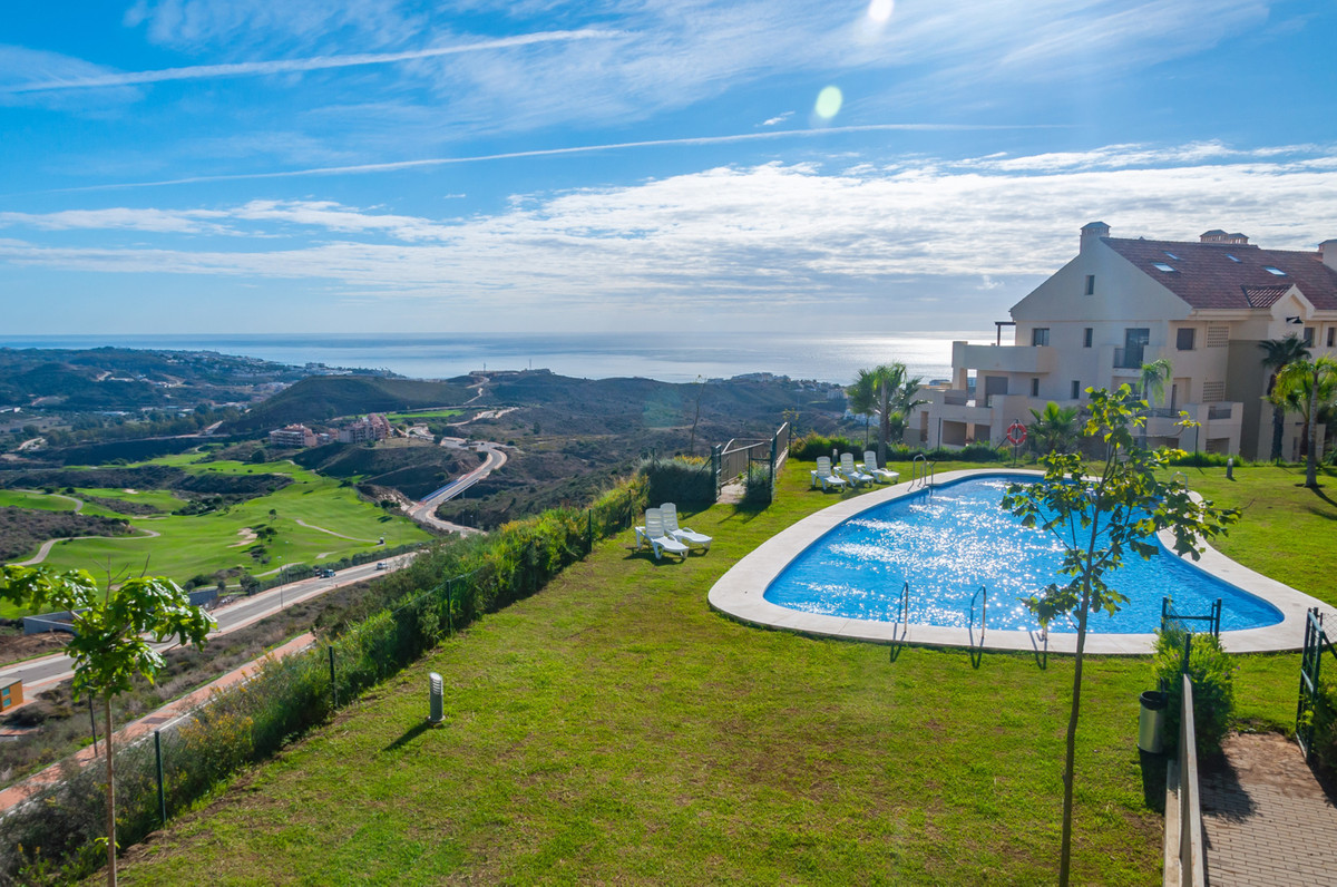 Privileged location with fantastic views of the Costa del Sol