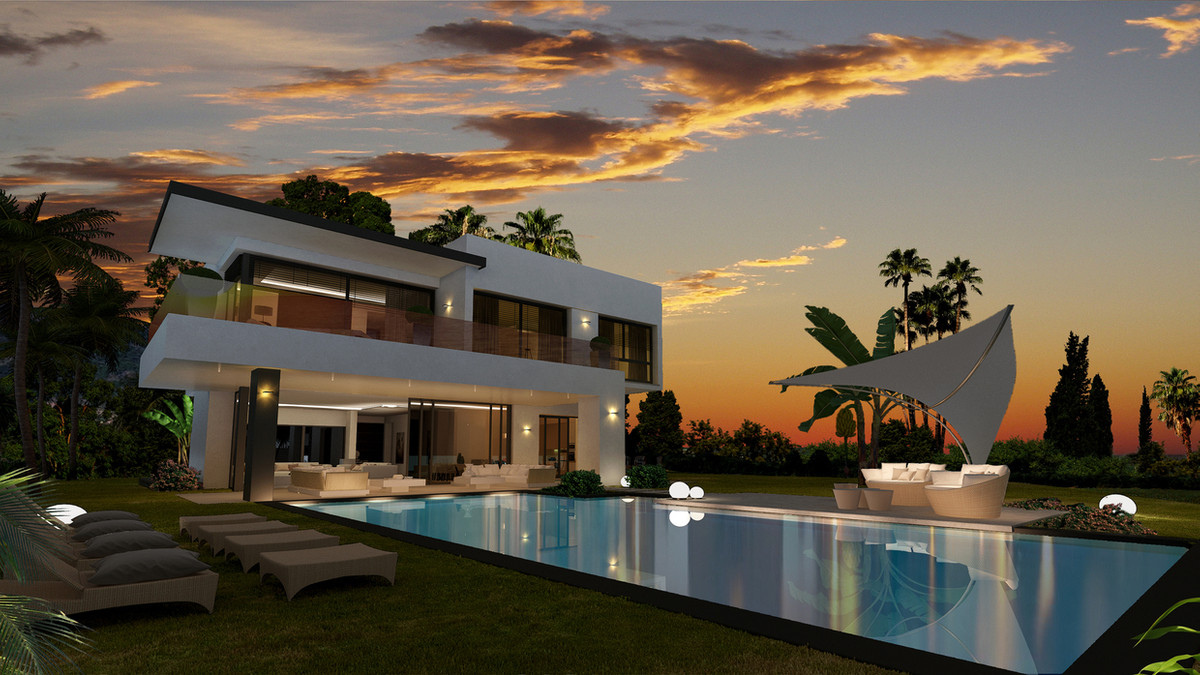 Luxury detached villas with stunning sea views!