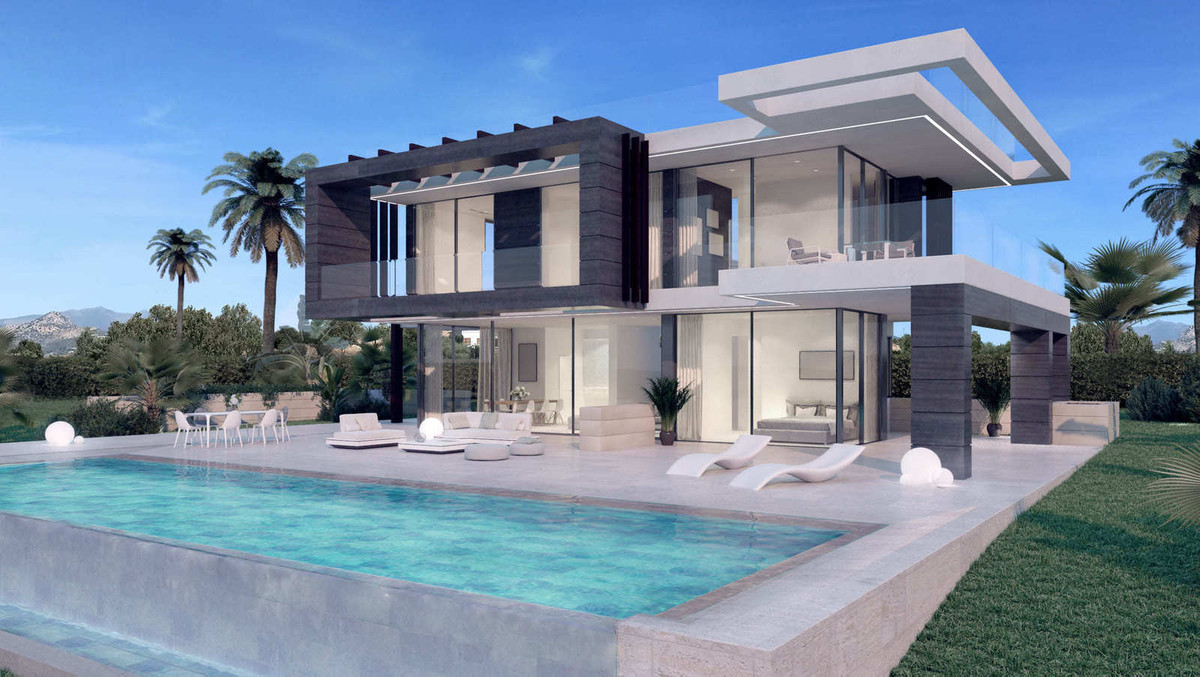 The design of this ULTRA MODERN villa is elegant and modern at the same time