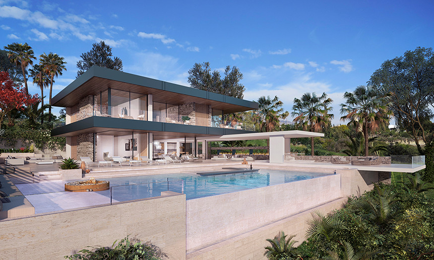 STUNNING VILLA FLOATING ABOVE THE COAST OF THE COSTA DEL SOL