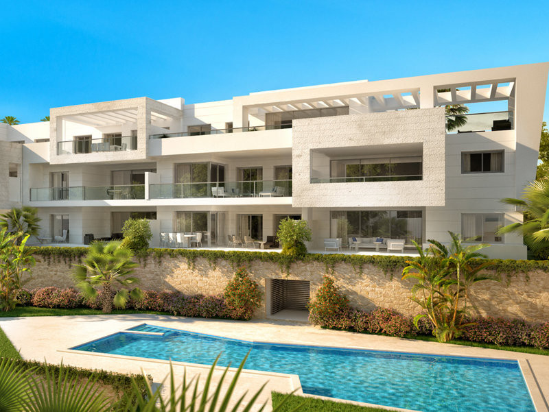 Reserve your top quality golf apartment in Casares Playa