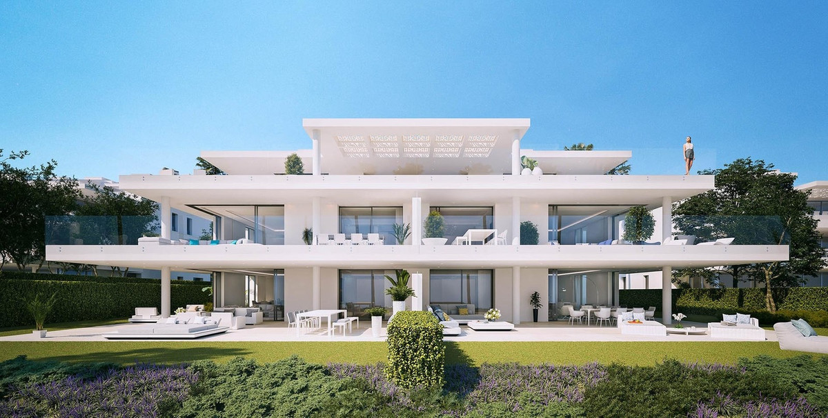 Luxury apartments : On the front line of the Mediterranean Sea