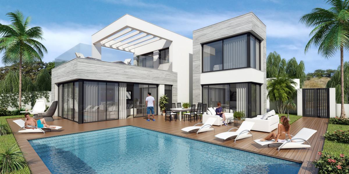 Substantial, contemporary off-plan villa in the prestigious area of El Rosario, Marbella