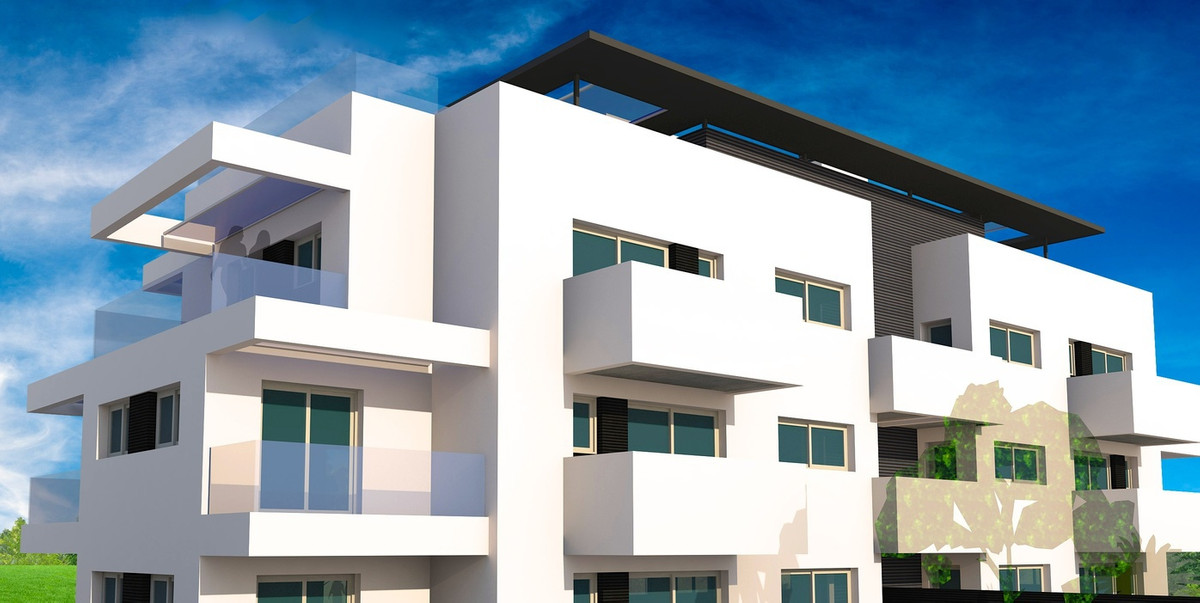 Off plan 3 bed apartment next to the Atalaya golf course