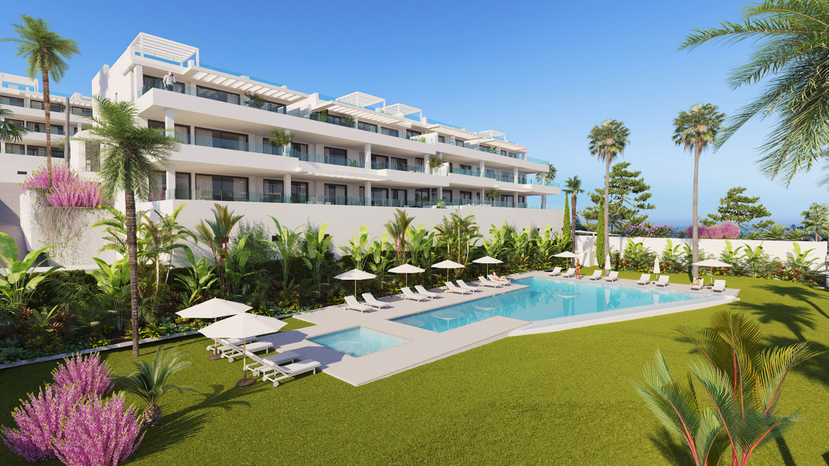 BRILLIANT NEW COLLECTION OF APARTMENTS NEXT TO THE QUAINT TOWN OF ESTEPONA