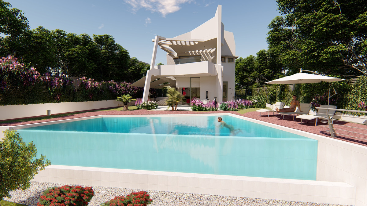 New Concept Smart Home Close to the Sea at Estepona