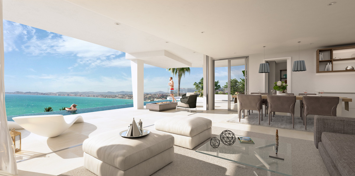 Luxury 1-4 bed homes in designer complex 25m from the sea