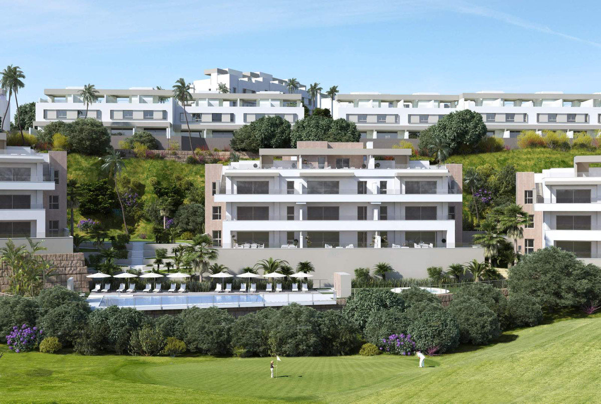 3 bed penthouse - a paradise for golf lovers