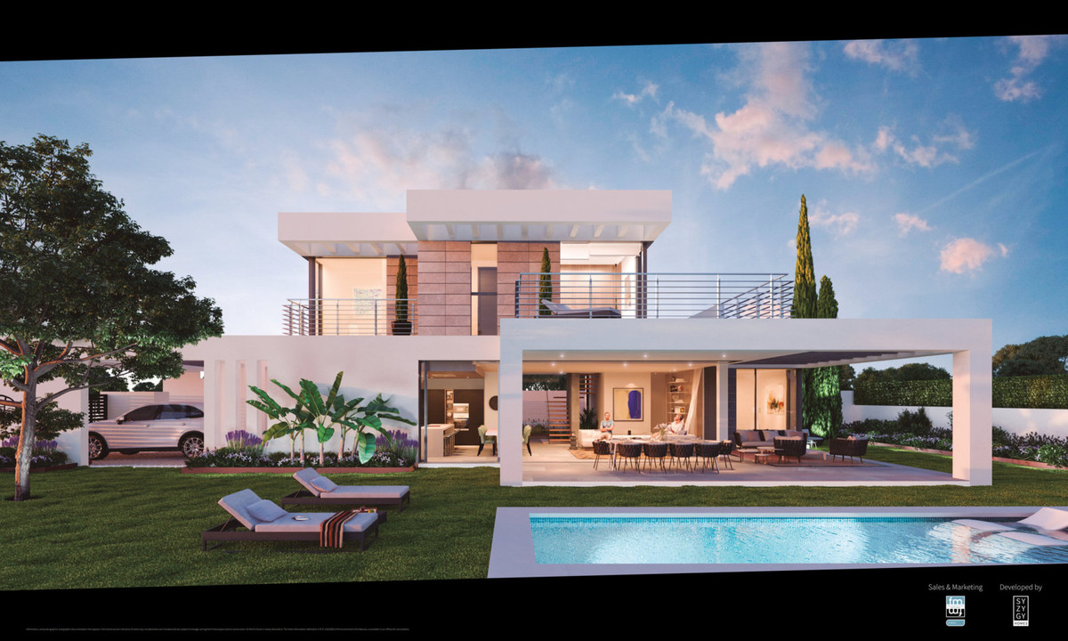 Stylish contemporary villa between Puerto Banus and Estepona
