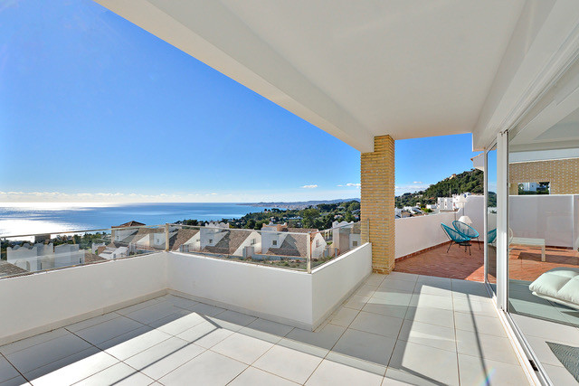 Luxury villas with sea views in the heart of Benalmadena