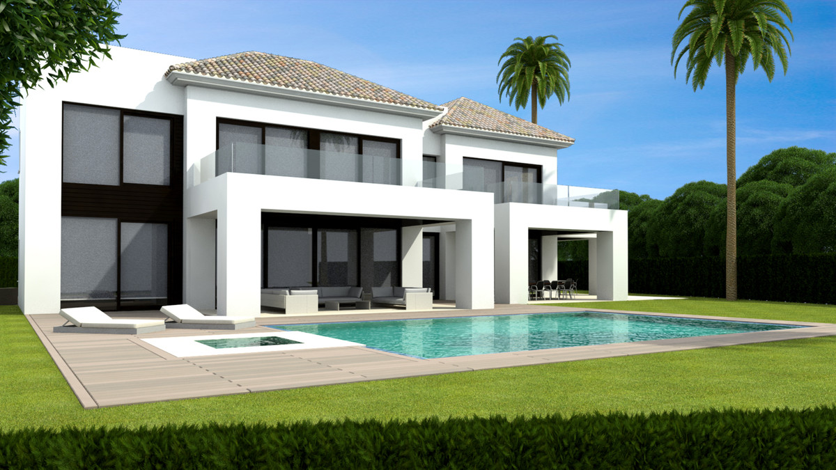 Modern residence 10 minutes away from Puerto Banus