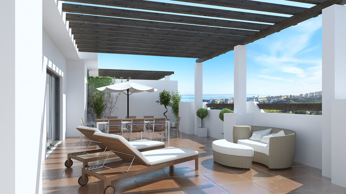 Built in a contemporary Mediterranean style