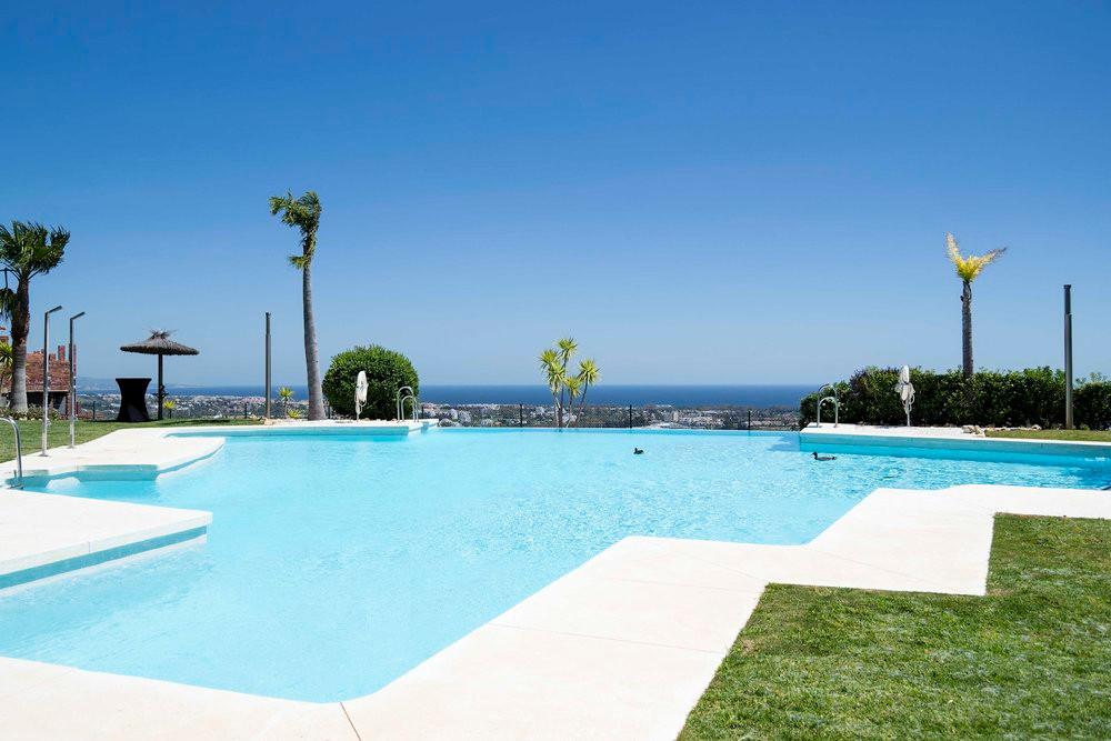 Spacious sea-facing sun terrace
